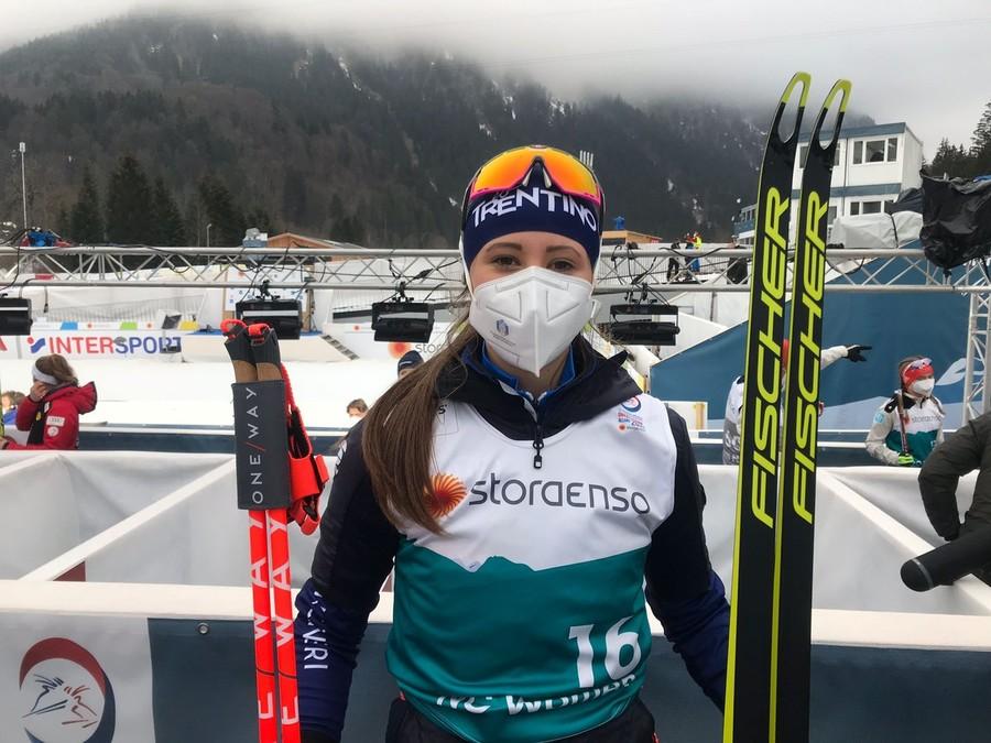 Primo arruolamento nella combinata nordica femminile: Annika Sieff entra nelle Fiamme Oro