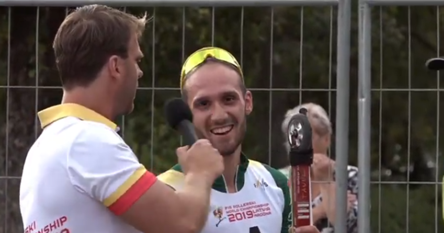 """Skiroll - Matteo Tanel festeggia il suo splendido Mondiale: """"Ho provato forti emozioni"""""""