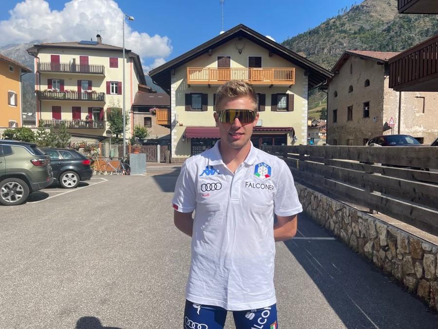 """Skiroll - Verso il Mondiale in Val di Fiemme, Luca Curti: """"Da scalatore spero di essere protagonista domenica"""""""