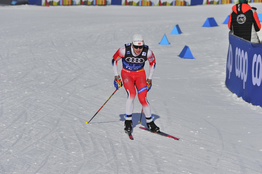 Simen Hegstad Krüger, il più abile a scalare il Cermis