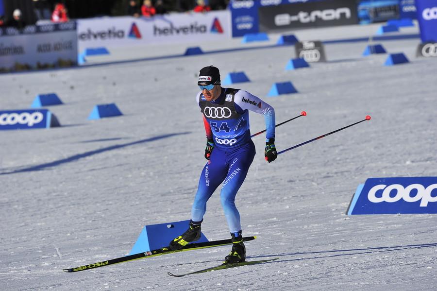 Fondo: Dario Cologna continuerà a gareggiare fino a Pechino 2022