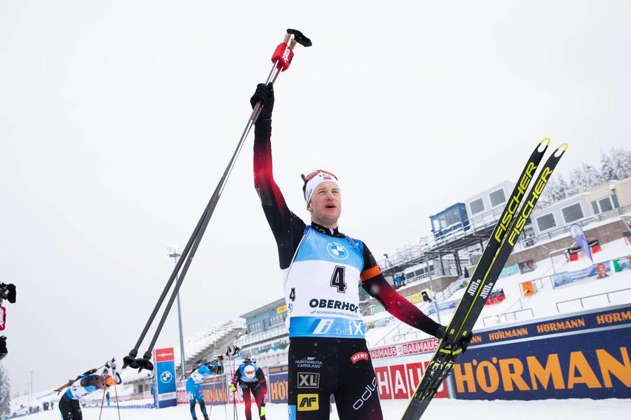 Tarjei Bø in un'immagine di Christian Manzoni / IBU