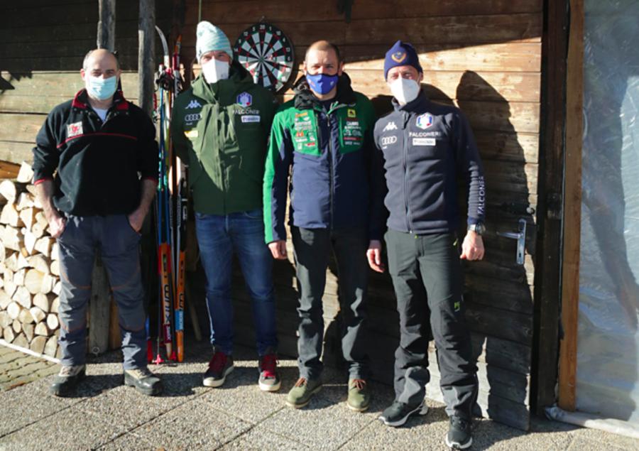 Fondo - Sopralluogo a Clusone per i Campionati Italiani sprint e team sprint del 23 e 24 gennaio