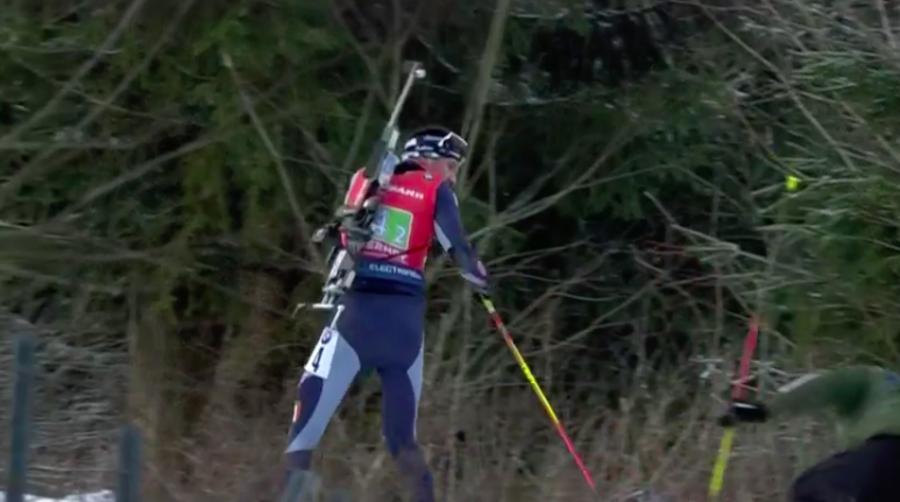 """Biathlon - Dominik Windisch stringe i denti: """"Ho dolore, ma tengo duro e riparto"""""""