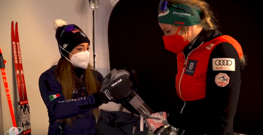 VIDEO - Una Coppa per due: la finta lite tra Dorothea Wierer e Lisa Hauser