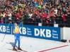Immagine laterale di Doro Wierer che vince l'oro