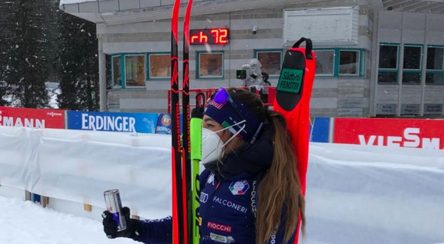"""Biathlon - Wierer: """"Se penso al primo errore mi arrabbio, ma è stata una prova positiva"""""""