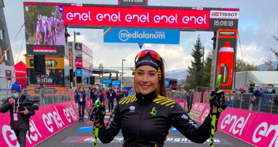 Biathlon ancora protagonista al Giro d'Italia: è il giorno di Dorothea Wierer