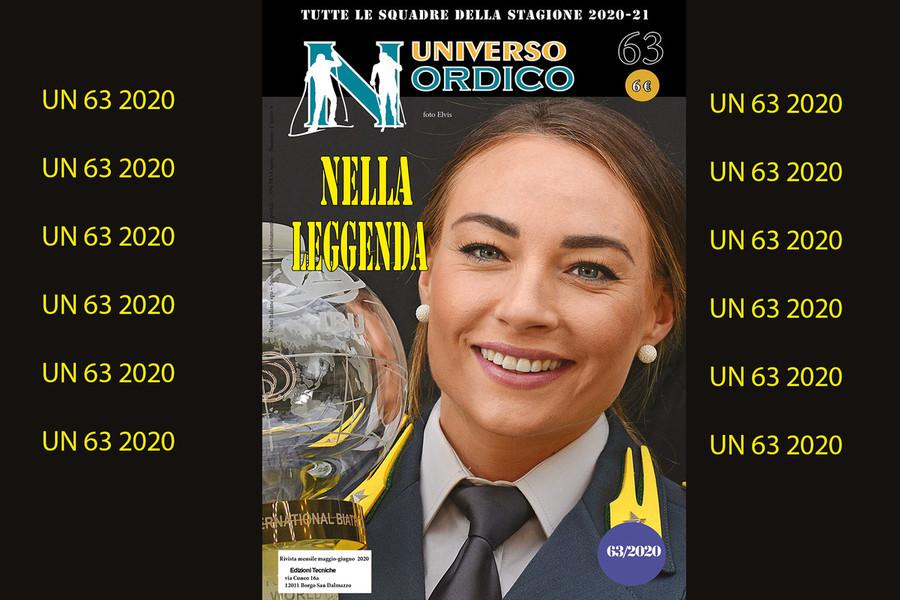 In edicola il numero 63 di Universo Nordico: in copertina Dorothea Wierer