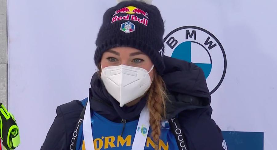 """Biathlon - Wierer: """"Felice di aver ritrovato il doppio zero; non ho ancora la forma dello scorso anno, ma so come arrivarci"""""""