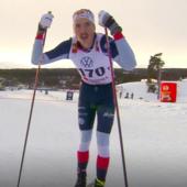 Fondo - Una coppia felice: William Poromaa imita la sua Frida e vince la 15km di Bruksvallarna